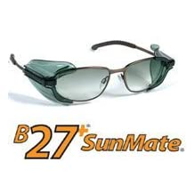 Sunmate Smoke Clip On Side Shields - Small by EyeMate