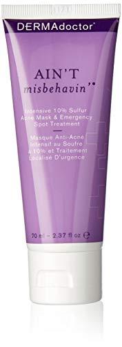 DERMAdoctor  Acne Mask and Emergency Spot Treatment, 2.3 Fl Oz (Dermadoctors Ain T Misbehavin Emergency Spot Treatment)