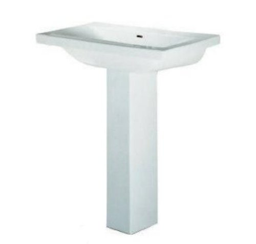 barclay 3264wh mistral 510 pedestal lavatory with 3 holes
