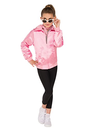 (Grease Pink Child Costume Jacket,)