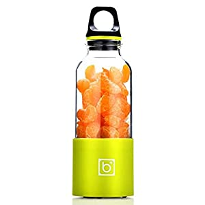 AMTSKR Spremiagrumi Elettrico Portatile Tazza Frullatore Multifunzionale Bottiglia Usb Ricaricabile Spremere Frutta Arancia Succo Estrattore Cucina Uso verde 6 spesavip