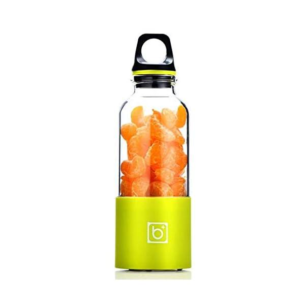 AMTSKR Spremiagrumi Elettrico Portatile Tazza Frullatore Multifunzionale Bottiglia Usb Ricaricabile Spremere Frutta… 1 spesavip