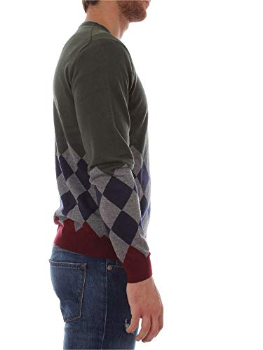 Oscuro SUN68 K28108 Verde Camiseta Hombre nIxSxHwCg8