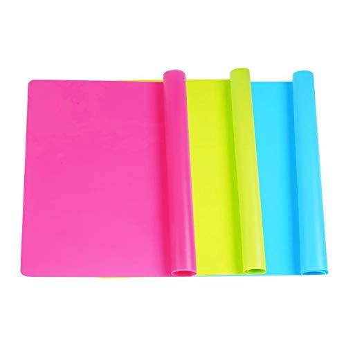 Placa de silicona multiuso para manualidades (Pack de 3)
