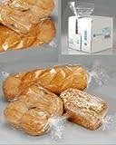 Freezer Food Storage Bags, Size: 10'' W x 8'' D x 24'' H (Width X Side Gusset X Length) Inch, 2.2 MIL, 250 Bags/Box