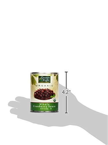 Grown Right Organic Whole Cranberry Sauce, 14 oz by Grown Right (Image #9)