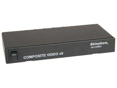 1x8 SHINYBOW COMPOSITE VIDEO DISTRIBUTION AMPLIFIER