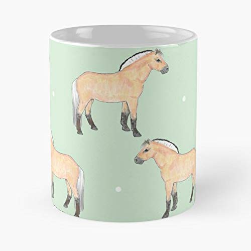 Fjord Pony Horses Horse - 11 Oz Coffee Mugs Ceramic,the Best Gift For Holidays.