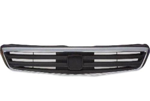 Honda Civic 99-00 Front Grille Car Chrome W/Molding Sedan New (Civic 00 Grille Honda)