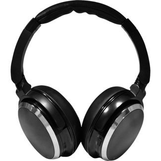 Pyle Home High-Fidelity Noise-Canceling Headphones with Carrying Case