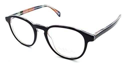 - Paul Smith Rx Eyeglasses Frames PM 8263 1618 48x19 Mayall Onyx/Artists Stripe