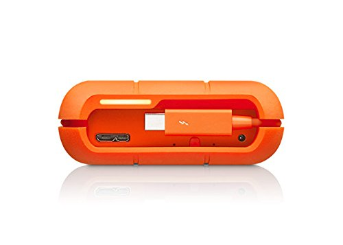 LaCie 4TB Rugged RAID 2.5'' External Hard Drive, Thunderbolt, USB 3.0