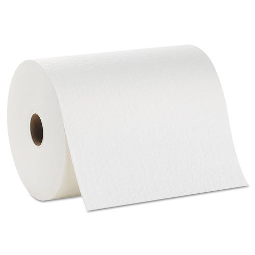 Georgia Pacific Professional Premium All-Purpose DRC Roll Wipers, 10'' x 250 ft, White - Includes six rolls of wipers.