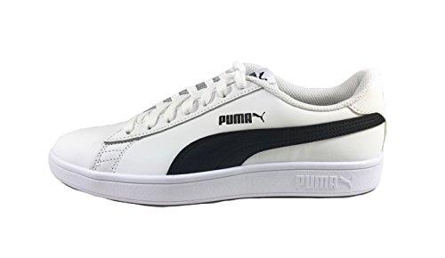 V2 Nero Sportive Scarpe Smash 5 Sneaker Puma 44 Bianco L Uomo 5215 Man gSaS41Y