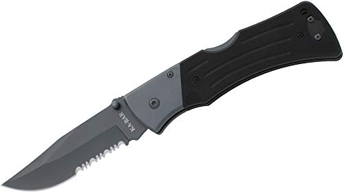 Ka-Bar Mule Folder Knife with Serrated Edge ()