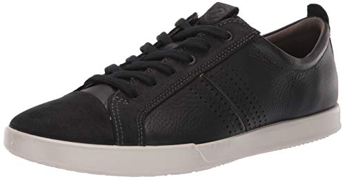 ECCO Men's Collin 2.0 Trend Sneaker Black, 43 M EU (9-9.5 US)