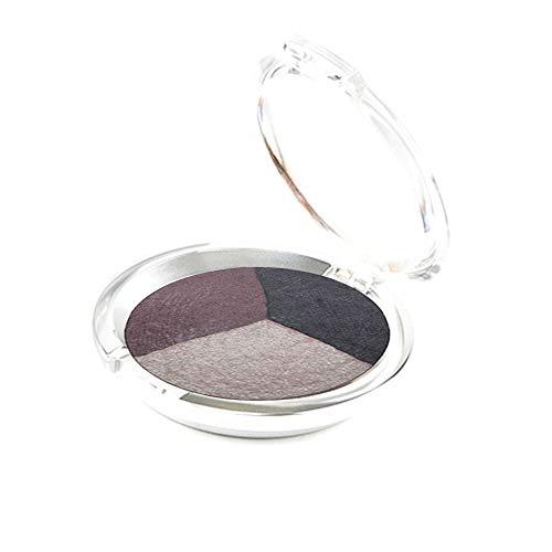 - Ageless Derma Mineral Makeup Baked Eyeshadow trio-Vegan Eye shadow (Smokey)