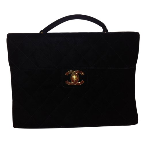 chanel-black-quilted-classic-velvet-leather-briefcase-laptop-ipad-bag
