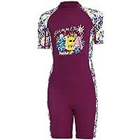 MNA Girl Rash Guards UPF 50+ Swimwear UV Protection Quick Dry One Piece Children Full Swimsuit Sun Protection Wetsuit…