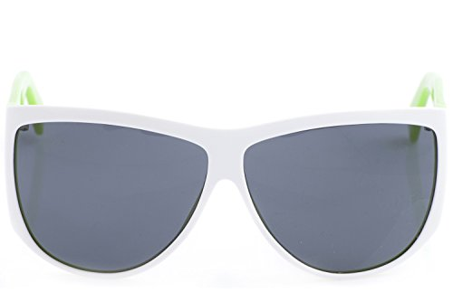Homme Rahmen FUNK Gläser White de unique Grau taille soleil Lunettes Green qwttc7TY