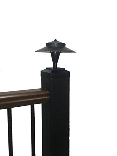 Tru-Post LED Light that fits a 4.5'' Trex Transcend Railing Post (Black) - TP-WL101A by Tru-Post