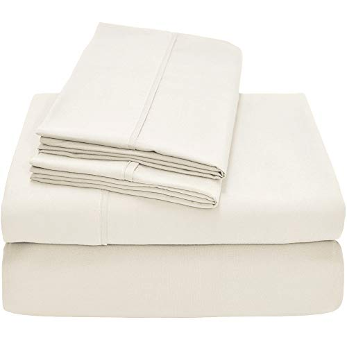 Bare Home Premium 1800 Ultra-Soft Microfiber Sheet Set Twin Extra Long -  Double Brushed 352b93568