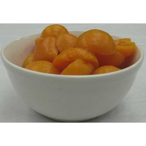 Seneca Unpeeled Label Apricot Halves in Light Syrup, 106 Ounce -- 6 per case.