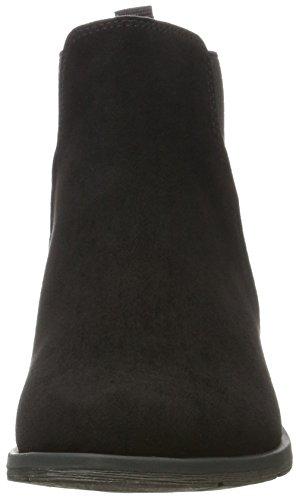 Mujer Marco Comb Tozzi para Black 25321 Negro Chelsea Botas xq7RgqX