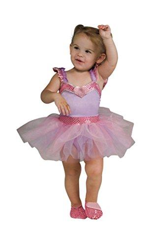 Rubie's Lovely Lavender Ballerina Toddler Costume (Rubies Costume Lavender)