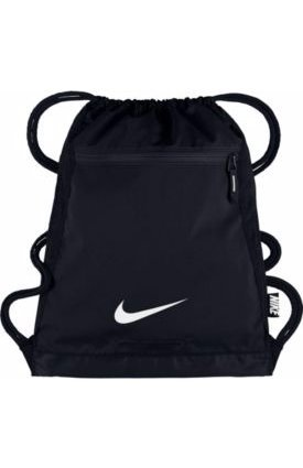Amazon.com: Nike Alpha Adapt Sack Pack (Black/Black/White, One ...