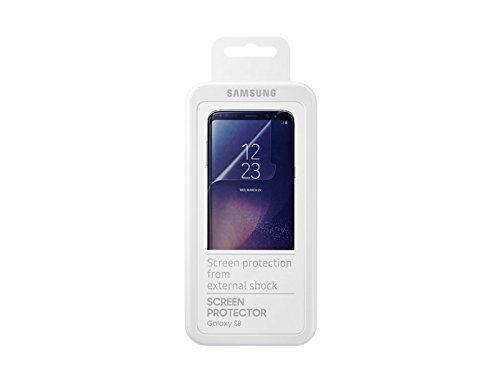 OEM GENUINE Samsung Screen Protector 2Pack fo Galaxy S8 SM-G950 Perfect Fit