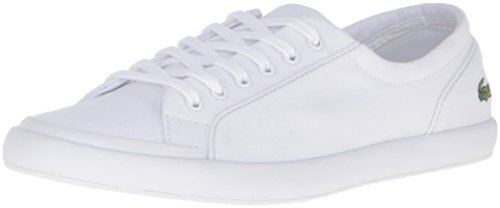 Lacoste Women's Lancelle Bl 2 Shoe, White, 8.5 M US
