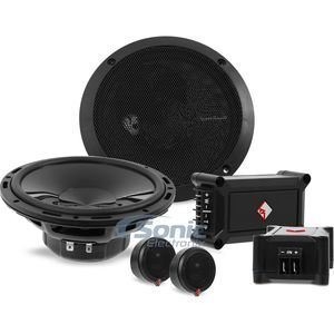 "Rockford Fosgate Punch P165-SE 240W 6.5"" Punch Series Euro Fit Compatible 2-Way Component System w/ External Crossover Network"