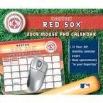- MLB Boston Red Sox 2009 Mouse Pad Calendar