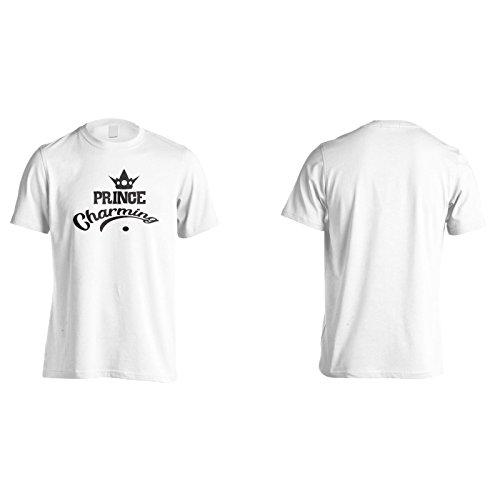 Prinz Charmant Schwarz Herren T-Shirt n715m