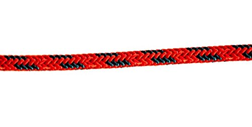 New England 5mm Accessory Cord 25' Red/Teal by New England