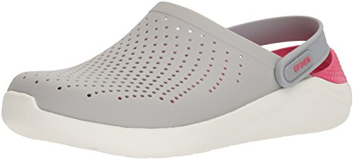Crocs Men's and Women's LiteRide Clog, Casual Athletic Shoe with Extraordinary Comfort Technology, Pearl White/White, 7 US Women / 5 US Men
