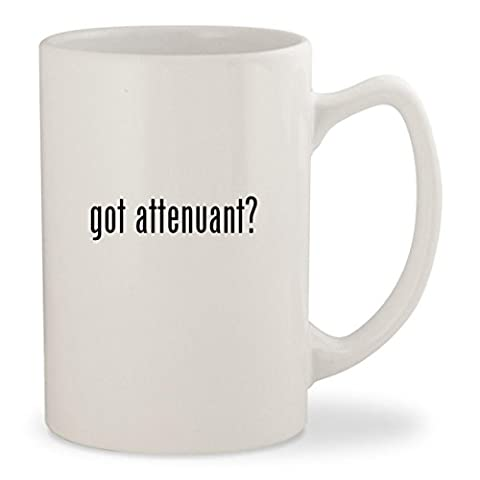 got attenuant? - White 14oz Ceramic Statesman Coffee Mug Cup ()