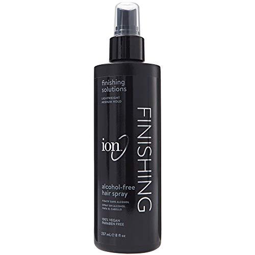 Hair Alcohol Spray Free - Ion Alcohol-Free Finishing Hair Spray, 8oz