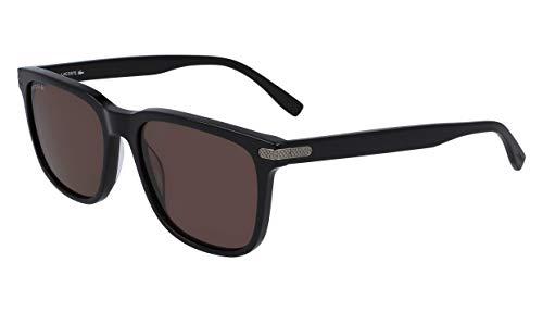 Lacoste Men's L898s L898S-001 Rectangular Sunglasses, Black, 56.1 mm (Sunglasses Lacoste Black)