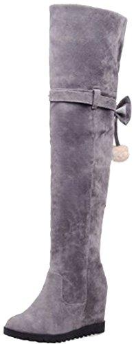 Laruise Women's Snow Boots Grey WNn4Q