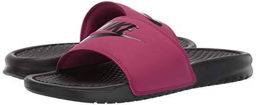 Nike Women's Benassi Just Do It Sandal, True Berry/Burgundy ash, 7 Regular US by Nike (Image #5)