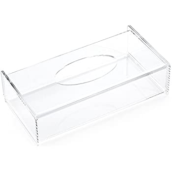 Marvelous Aoert Acrylic Tissue Dispenser Box Rectangle Clear Tissue Box Cover  Decorative Napkin Holder   Bathroom Facial