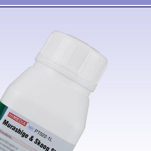 HiMedia PT022-1L Murashige and Skoog Shoot Multiplication Medium A with CaCl2, Vitamins, Sucrose, IAA, Adenine Sulphate and 2iP, 1 L