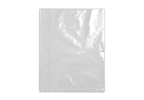 "16"" x 20"" 2 mil. - Clear Plastic Flat Open Poly Bag (100 Pack) 