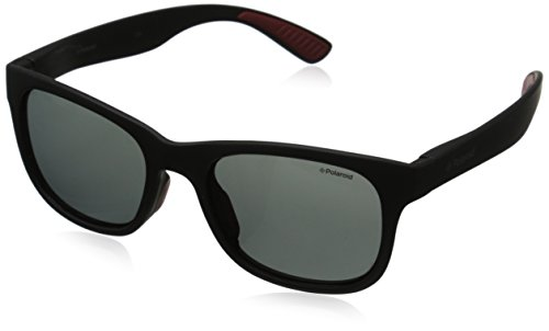 Polaroid Sunglasses PLD3005S Polarized Wayfarer Sunglasses, Matte Black & Gray Polarized, 51 - Polaroid Sunglasses Polarized