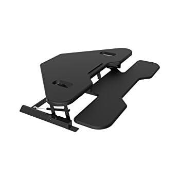 Amazon Com Vivo Black Corner Deluxe Height Adjustable