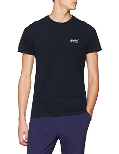 Label Superdry Navy s Emb T Blu eclipse Uomo Vntge shirt 98t Tee S pdPdwOqx