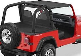 Jeep Bimini Top >> Amazon Com Bestop Bikini Top For 1995 1995 Jeep Wrangler