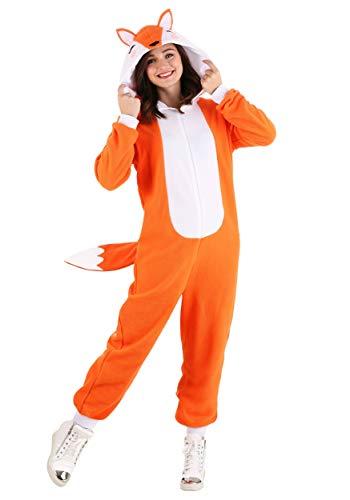 Cozy Fox Costume Adult's Medium Orange,